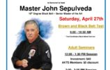 April 27th Sepulveda Seminar